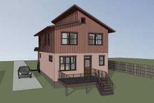 Modern Exterior - Rear Elevation Plan #79-293