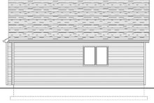 Architectural House Design - Cabin Exterior - Rear Elevation Plan #126-216