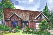 Traditional Style House Plan - 3 Beds 2 Baths 1365 Sq/Ft Plan #320-408 Exterior - Front Elevation