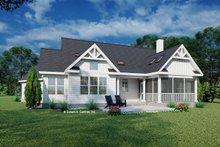 House Blueprint - Farmhouse Exterior - Rear Elevation Plan #929-1130