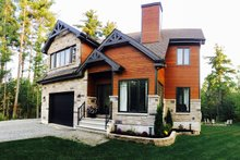 Traditional Exterior - Front Elevation Plan #23-450