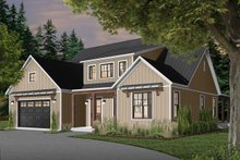 House Plan Design - Farmhouse Exterior - Front Elevation Plan #23-2690