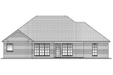 House Plan Design - Traditional Exterior - Rear Elevation Plan #430-60