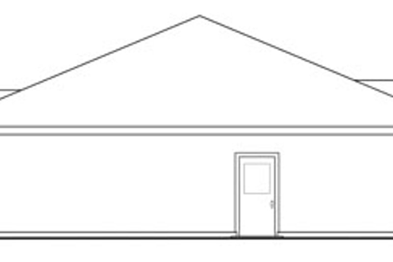 Traditional Exterior - Other Elevation Plan #124-822 - Houseplans.com
