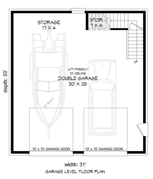 Dream House Plan - Country Floor Plan - Main Floor Plan #932-271