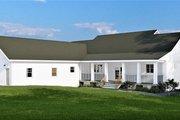 Farmhouse Style House Plan - 4 Beds 2.5 Baths 2525 Sq/Ft Plan #44-242 Exterior - Rear Elevation