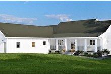 Farmhouse Exterior - Rear Elevation Plan #44-242