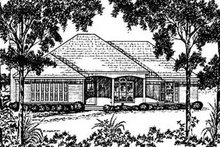 Traditional Exterior - Front Elevation Plan #36-151