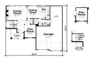 Craftsman Style House Plan - 3 Beds 2.5 Baths 2023 Sq/Ft Plan #20-2084 Floor Plan - Main Floor Plan