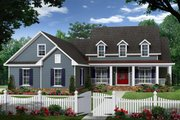 Country Style House Plan - 3 Beds 2.5 Baths 2150 Sq/Ft Plan #21-335 Exterior - Front Elevation