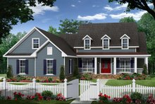 Dream House Plan - Country Exterior - Front Elevation Plan #21-335