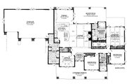 Country Style House Plan - 3 Beds 2.5 Baths 2251 Sq/Ft Plan #942-57 Floor Plan - Main Floor
