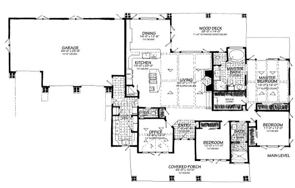 House Plan Design - Main Level Only