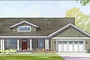 Traditional Style House Plan - 3 Beds 2.5 Baths 2636 Sq/Ft Plan #901-109 Exterior - Front Elevation