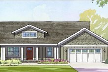 Dream House Plan - Traditional Exterior - Front Elevation Plan #901-109
