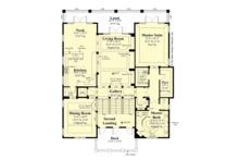 European Floor Plan - Upper Floor Plan Plan #930-505