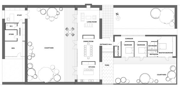Ranch Floor Plan - Main Floor Plan Plan #520-9