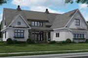 Farmhouse Style House Plan - 4 Beds 4 Baths 3319 Sq/Ft Plan #51-1156 Exterior - Front Elevation