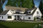 Farmhouse Style House Plan - 4 Beds 3.5 Baths 2528 Sq/Ft Plan #51-1130 Exterior - Front Elevation
