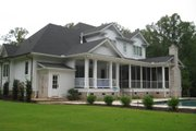 Country Style House Plan - 5 Beds 5.5 Baths 4910 Sq/Ft Plan #1054-95 Exterior - Rear Elevation