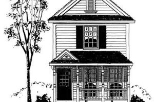 Farmhouse Exterior - Front Elevation Plan #410-248