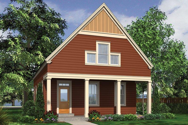 House Plan Design - Beach Exterior - Front Elevation Plan #48-974