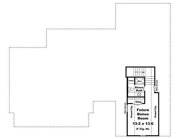 Craftsman Floor Plan - Other Floor Plan #21-289