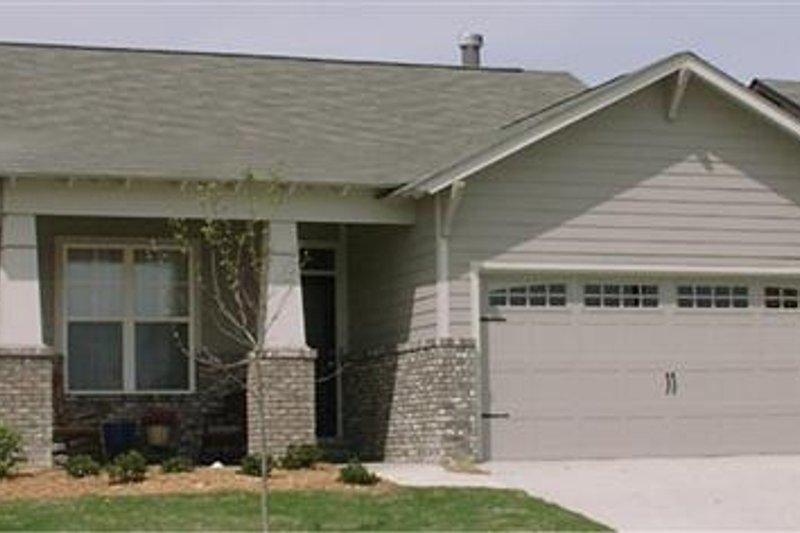 House Plan Design - Cottage Exterior - Front Elevation Plan #63-148