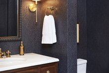 House Plan Design - Powder Room