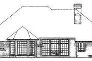 House Plan - 4 Beds 3 Baths 2233 Sq/Ft Plan #310-144 Exterior - Rear Elevation