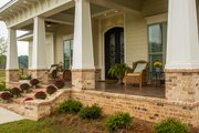 Prairie Style House Plan - 3 Beds 3.5 Baths 2476 Sq/Ft Plan #930-463 Exterior - Covered Porch