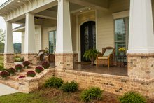 Architectural House Design - Prairie Exterior - Covered Porch Plan #930-463