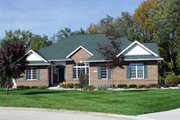 Traditional Style House Plan - 2 Beds 2 Baths 2200 Sq/Ft Plan #70-342 Exterior - Front Elevation
