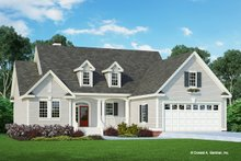 Country Exterior - Front Elevation Plan #929-747