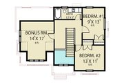 Farmhouse Style House Plan - 3 Beds 2.5 Baths 1860 Sq/Ft Plan #1070-40