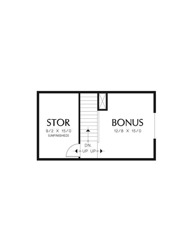 Craftsman Floor Plan - Other Floor Plan #48-556