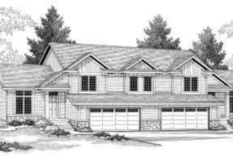 Traditional Exterior - Front Elevation Plan #70-743