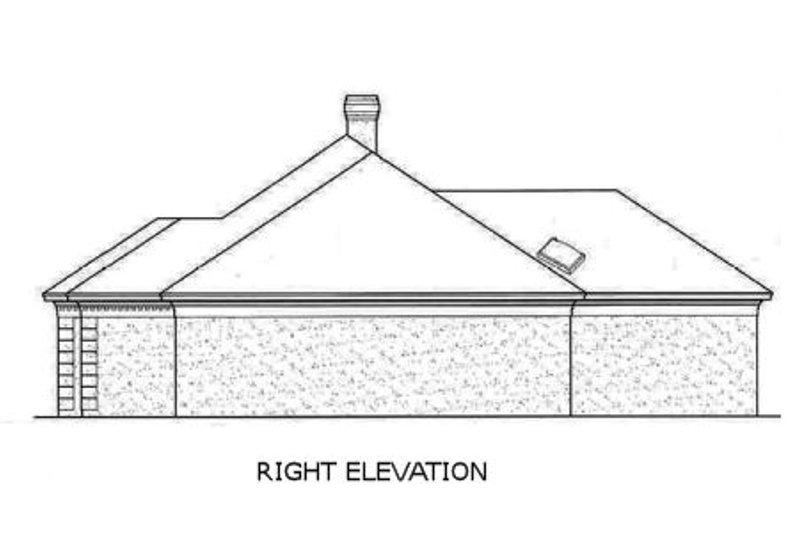 European Exterior - Other Elevation Plan #45-143 - Houseplans.com