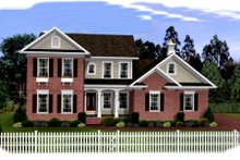 Dream House Plan - Southern Exterior - Front Elevation Plan #56-237
