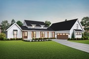 Farmhouse Style House Plan - 3 Beds 2.5 Baths 2060 Sq/Ft Plan #48-968 Exterior - Front Elevation
