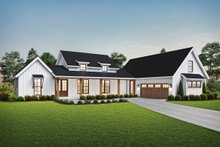 Farmhouse Exterior - Front Elevation Plan #48-968