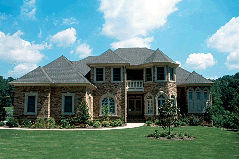 European Exterior - Front Elevation Plan #20-2043 - Houseplans.com