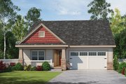Craftsman Style House Plan - 3 Beds 2 Baths 1878 Sq/Ft Plan #20-2348