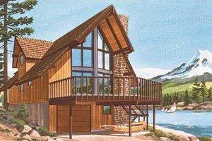 Bungalow Exterior - Front Elevation Plan #320-301