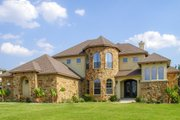 European Style House Plan - 4 Beds 3 Baths 2641 Sq/Ft Plan #80-168 Exterior - Front Elevation