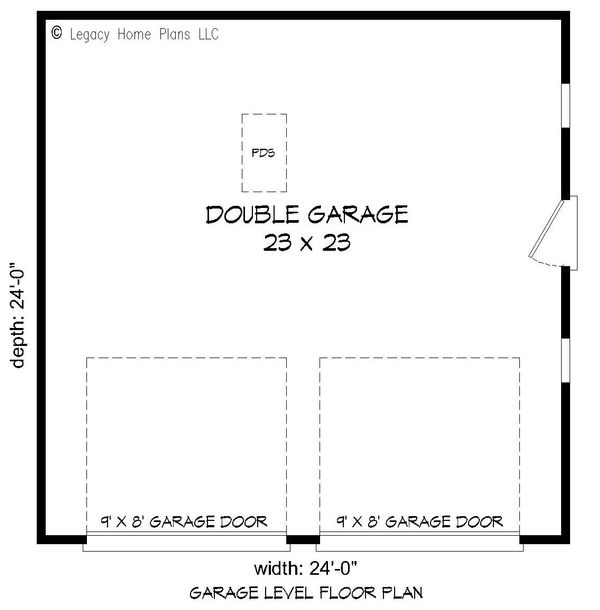 Dream House Plan - Country Floor Plan - Main Floor Plan #932-103
