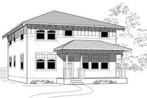 Craftsman Exterior - Front Elevation Plan #423-15
