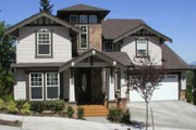 Craftsman Style House Plan - 3 Beds 2.5 Baths 2805 Sq/Ft Plan #132-128 Exterior - Other Elevation