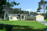 Traditional Style House Plan - 4 Beds 2 Baths 1889 Sq/Ft Plan #1-736