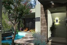 House Plan Design - Modern Exterior - Front Elevation Plan #120-169